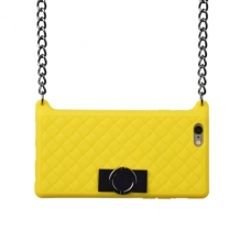 Yellow I-phone 5 bag
